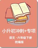 小学语文 统编版 六年级下册 小升初冲刺试题+专项(含答案)