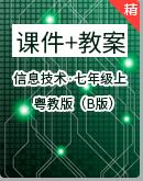 2020年粤教版(B版)信息技术七年级上课件+教案