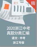 2020年浙江中考语文真题分类汇编