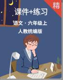 【2020統編版秋季】語文六年級上冊 優質同步課件+練習