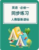 高一英语 人教版新课标 必修1 必修2课时作业,同步练习