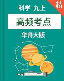 华师大版科学九上高频考点(课件+学案)