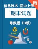 (广东省)粤教版(B版)信息技术上册期末试题(含答案)