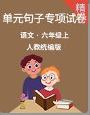 人教統編版語文六年級上冊 單元句子專項測試卷含答案