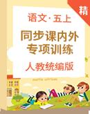 【2020统编版秋季】语文五年级上册 同步课内外阅读专项训练含答案