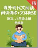 统编版语文八年级上册《课外现代文阅读》学案 阅读讲练+文体概述