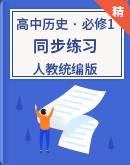高中歷史 人教統編版(選擇性必修1) 國家制度與社會治理 同步練習