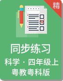 2020粤教版科学四年级上册同步练习