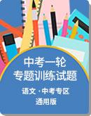 初中语文 中考一轮复习 专题训练试题(pdf版,含解析)