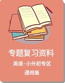 小升初 英語 復習專題資料(通用版)