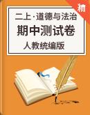 人教統編版道德與法治二年級上冊 期中測試卷
