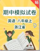 浙江省初中英語八年級上學期期中考試模擬試卷(含答案解析)