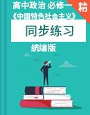 【课课练】人教统编版高中思想政治必修1《中国特色社会主义》同步练习