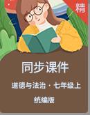 【2020秋】统编版道德与法治七年级上册同步课件