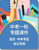 2021年初中语文 中考一轮专题复习 专题课件(浙江专用)