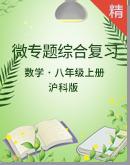 沪科版数学八年级上册 微专题综合复习(含答案)