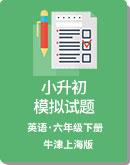 牛津上海版 三起  英語 小升初模擬試題 (含答案 無聽力)