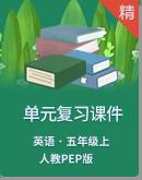 【期末復習】人教PEP版英語五年級上冊單元復習課件