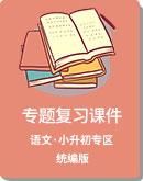 統編版 小升初 語文 專題復習課件