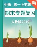 高中生物人教版2019 高一上學期期末專題復習(含解析)