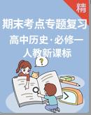 2020-2021学年高一上学期历史 期末考点串讲+专题检测(人教版必修1)