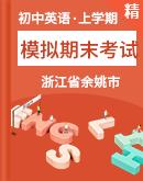 浙江省余姚市 2020--2021学年度上学期模拟期末考试英语试卷(含解析)