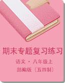 (部编版五四制)上海市 八年级上册语文 期末专题复习练习