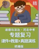 【2021年河北中考】道德与法治专题复习 课件+教案+真题演练卷