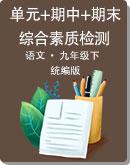 初中语文 统编版 九年级下册 单元+期中+期末综合素质检测(含答案)