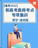 【备考2021】新高考数学高频考点专项集训(原卷版+解析版)