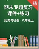 人教版历史与社会八上期末专题复习课件+练习