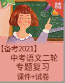 【备考2021】中考语文二轮 专题复习 课件+试卷