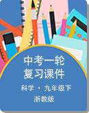 浙江省2021年 中考科学 一轮复习课件(精讲+精练)(附word版练习)