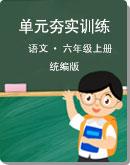 部编版语文 六年级上册 单元易错分析解题指导夯实训练(含答案)