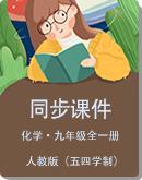 人教版(五四学制)初中化学九年级全一册 同步课件