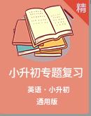 2021年小学英语小升初专项训练(含答案)(通用版)