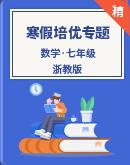 【寒假专区】浙教版数学七年级 寒假培优专题