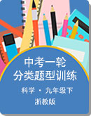 2021中考 浙教版科学 第一轮复习分类题型训练试题
