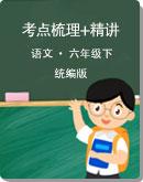 统编版语文 小升初 浙江省2012届专项复习:考点梳理+精讲(无答案)
