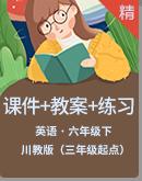 【高效备课】川教版英语六年级下册同步课件+教案+练习