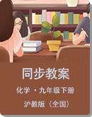 沪教版(全国)初中化学九年级下册 同步教案
