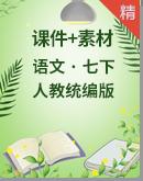人教统编版语文七年级下册 同步课件+素材