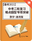 【备考2021】中考数学二轮复习难点题型专项突破(含解析)