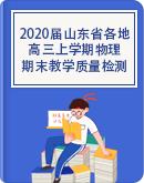 2020届山东省各地高三上学期期末教学质量检测物理试题