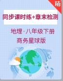 商务星球版地理八年级下册同步课时练+章末检测(含解析)