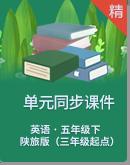 陕旅版(三年级起点)英语五年级下册单元同步课件