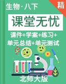 【课堂无忧】初中生物北师大版8年级下册备课备考资源精选