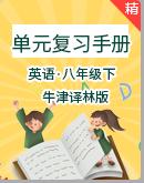 牛津译林版八年级下册英语单元复习手册(单元知识点整理+词汇运用练习)(含答案)
