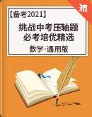 【备考2021】数学挑战中考压轴题 必考培优精选(原卷+解析)