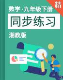 【课堂无忧】湘教版数学九年级下册 同步练习(含解析)